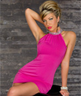 Glamorous Mini Dress Pink