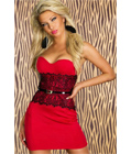 Fashion Tube Dress Red