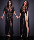 Fashion Long Lace Sleepwear