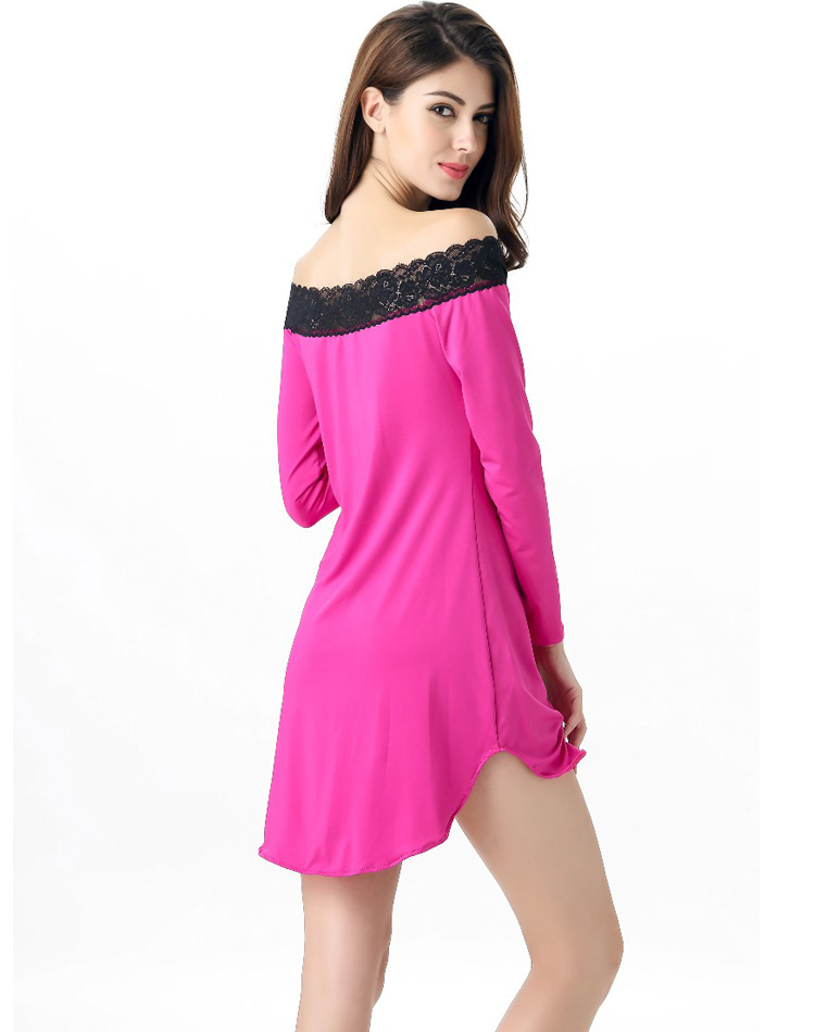 Lace Trimmed Sleep Tunic