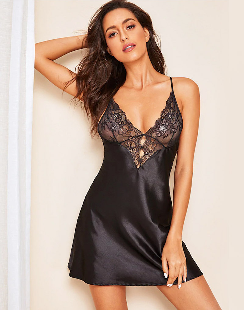 Lace & Satin Sleepwear