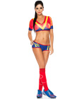 Spain Soccer Player Costume