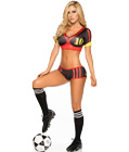 Deutsch Soccer Player Costume