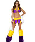 Cheerful Cheerleader Costume