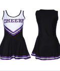 Classic Cheerleader Dress Black