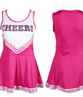 Classic Cheerleader Dress Rose