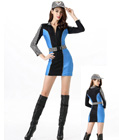 Racing Girls Costume Blue