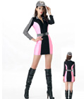 Racing Girls Costume Pink