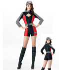 Racing Girls Costume Red