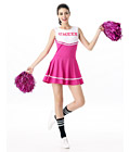 Sexy Cheerleader Costume Pink