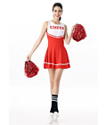 Sexy Cheerleader Costume Red