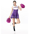 Sexy Cheerleader Costume Purple
