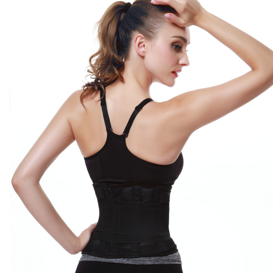 Belt Fitness Body Shaper Black