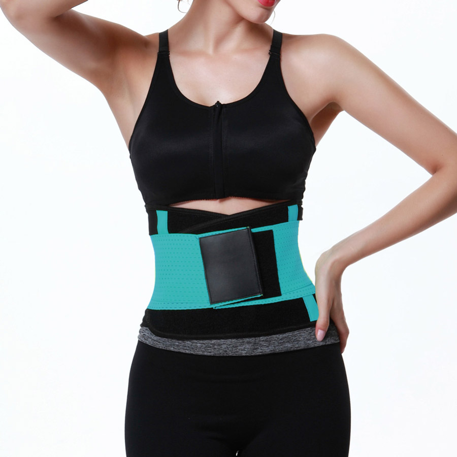 Belt Fitness Body Shaper Blue