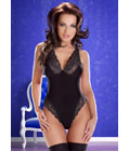 Cora Black Body Teddy Black