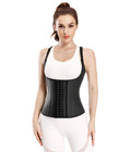 25 Steel Bones Latex Sport Waist Cincher